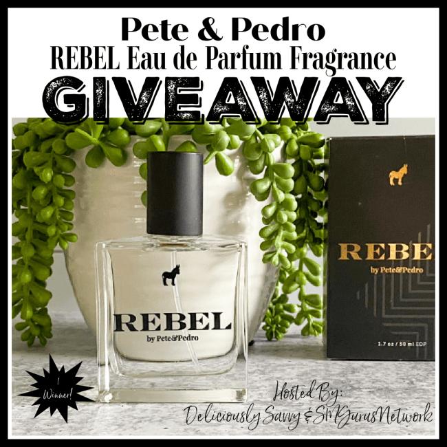 Pete & Pedro REBEL Fragrance Giveaway