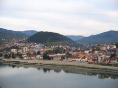 Visegrad from the viewpoint