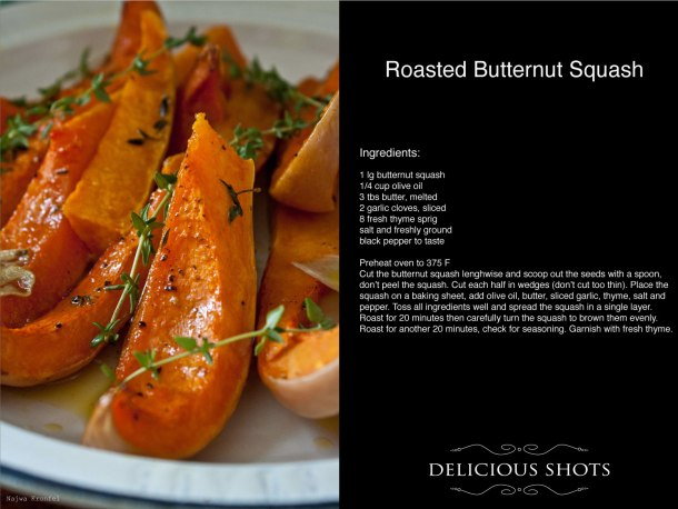 Roasted Butternut Squash, Carrots and a Giveaway!!