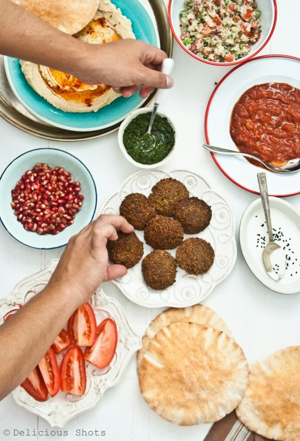 Falafel and Pickled Onions from Balaboosta Cookbook