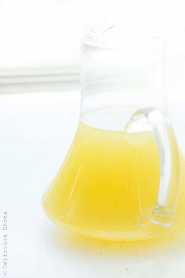 Homemade Arak Limoncello