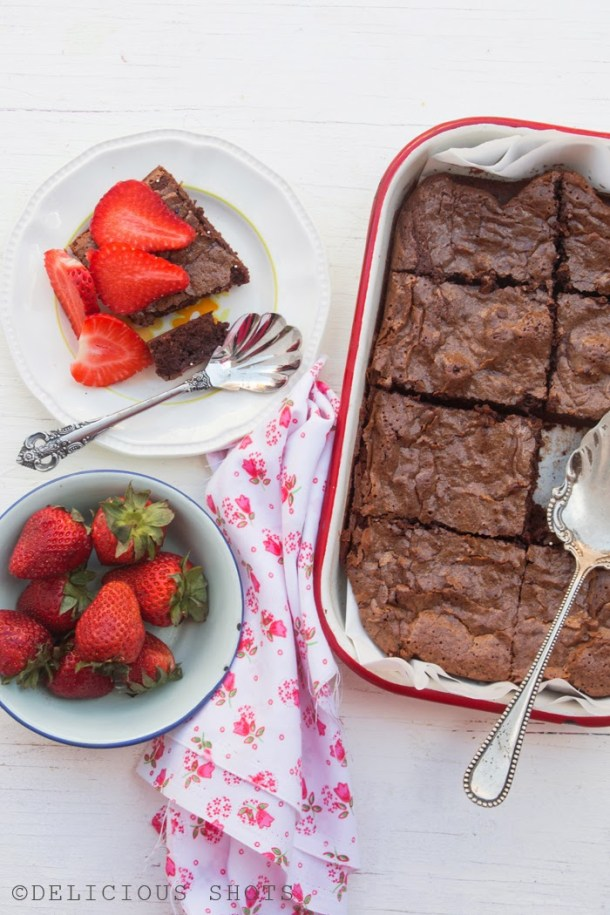Fudgy Brownies, Seriously Good!