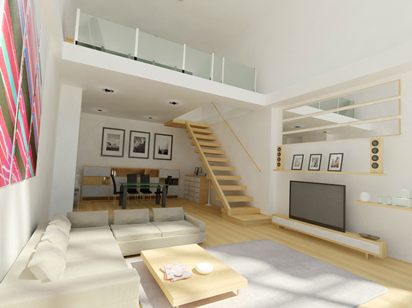 50 Amazing Interior Designs Created In 3D Max And Photoshop