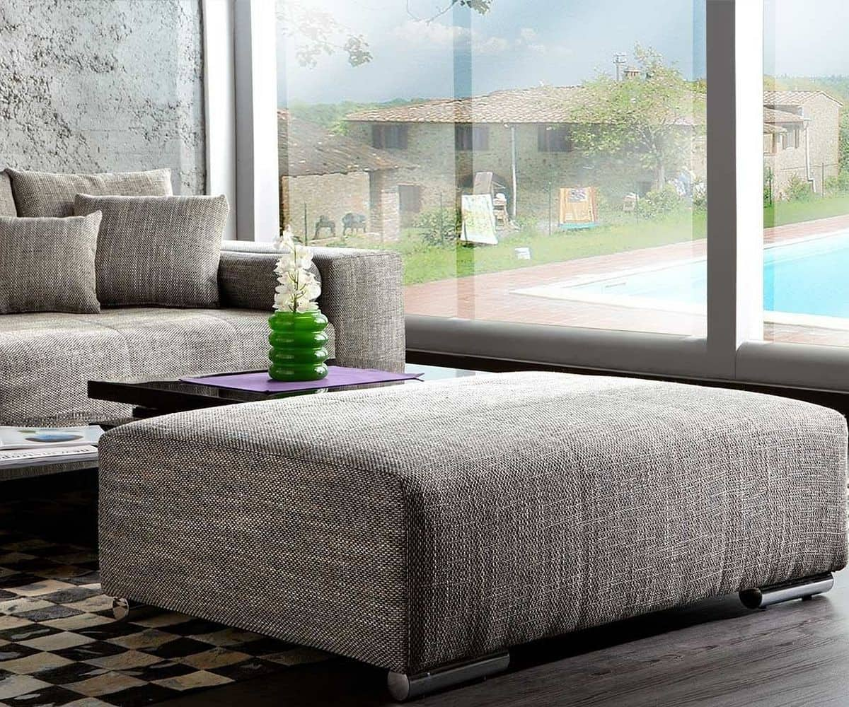 Big Couch With Ottoman