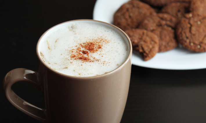 Save money and make your own homemade vegan gingerbread latte exactly the way you want it. It's just as delicious as the coffee shop version!