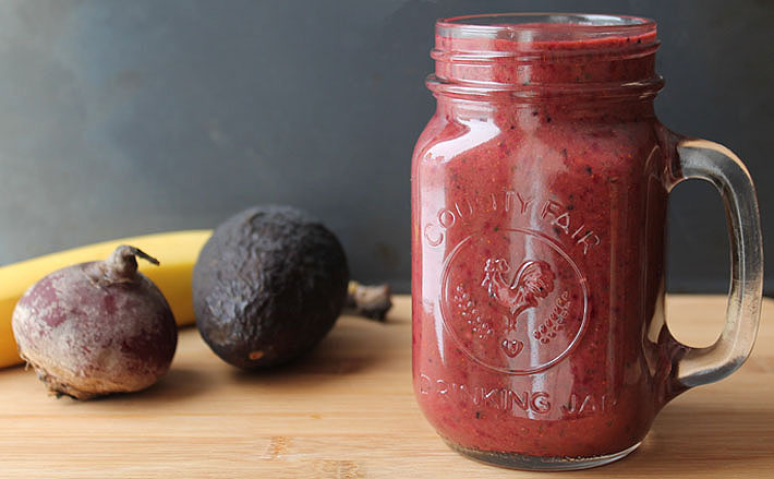 Berry Beet Ginger Smoothie