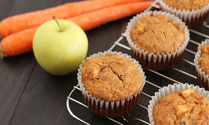 Vegan Gluten Free Morning Glory Muffins