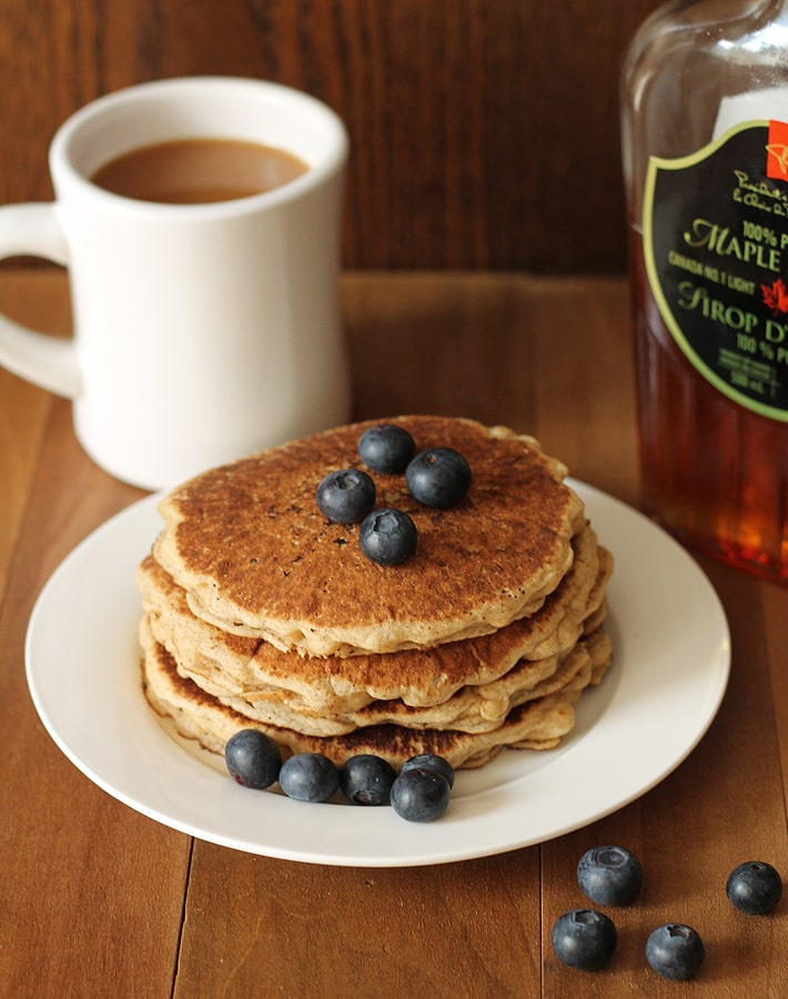 These Easy Vegan Gluten Free Pancakes make the perfect addition to your breakfast table.