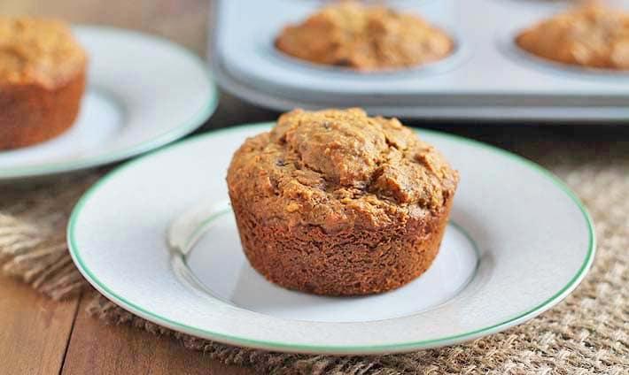 Carrot Coconut Muffins (Vegan + GF)