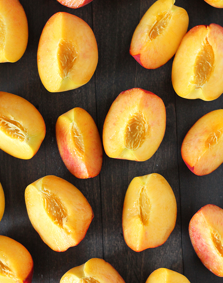 Easy Refrigerator Pickled Peaches