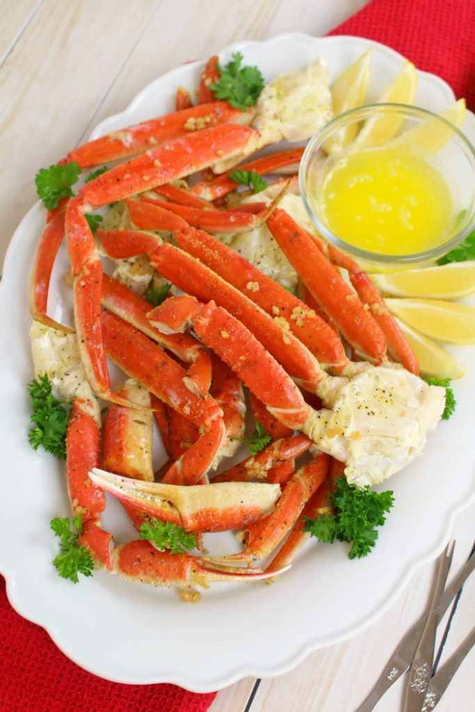 Oven Baked Snow Crab Legs - Delightful E Made