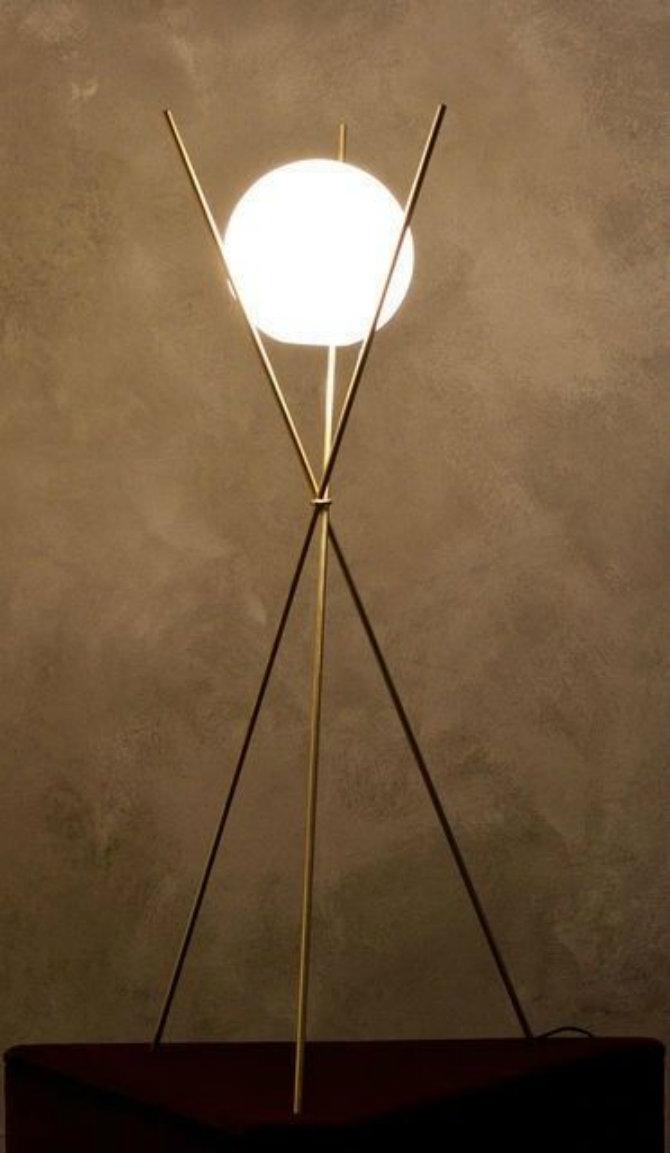 Decoration ideas Famous Tripod floor lamps  Lighting