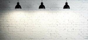 blank walls living decor