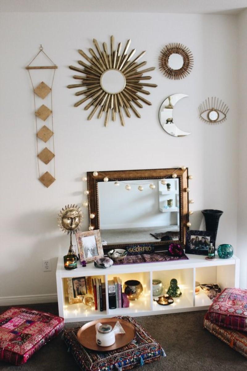 What is Hot On Pinterest 5 Top Boho Bedroom Dcor