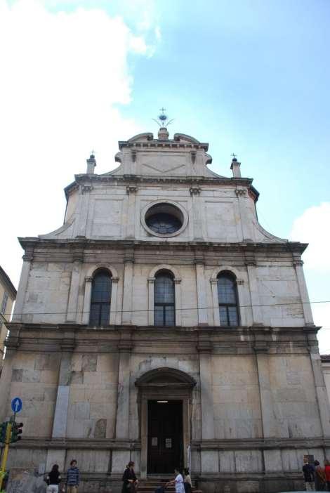 San Maurizio - Facciata