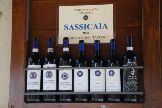 One day in Montalcino - Sassicaia