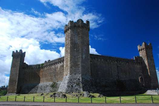 One day in Montalcino - Montalcino Castle
