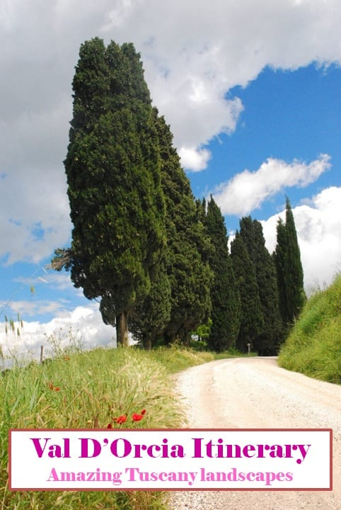 Val d'Orcia one day itinerary - Pinterest