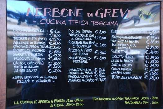 Chianti itinerary -_Osteria Nerbone