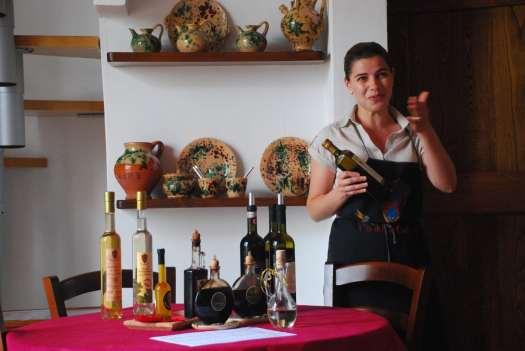 Chianti itinerary - Tenuta Casanova - Wine Tasting