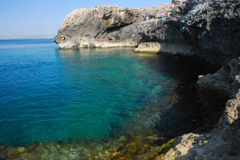 Siracusa_sea from villa Fisher