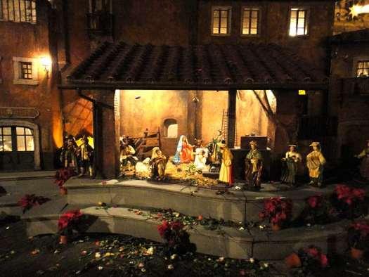 Nativity scenes_Italy_Nativity scene at the Spanish Steps