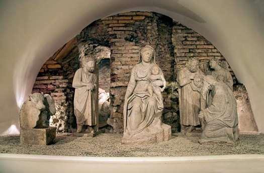 Nativity scenes_Italy_Nativity scene in Sta Maria Maggiore