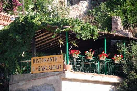 Taormina in one day - Mazzarò beach restaurant