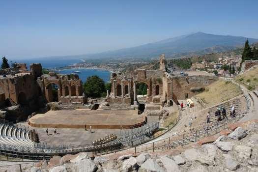 Taormina in one day - teatro greco