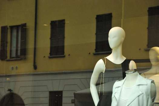 Fashion boutique shop window