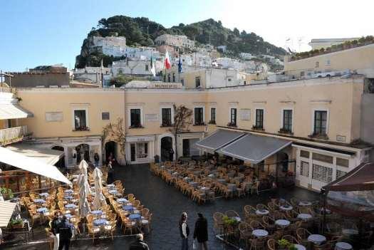 Capri walking itinerary - Capri Piazzetta