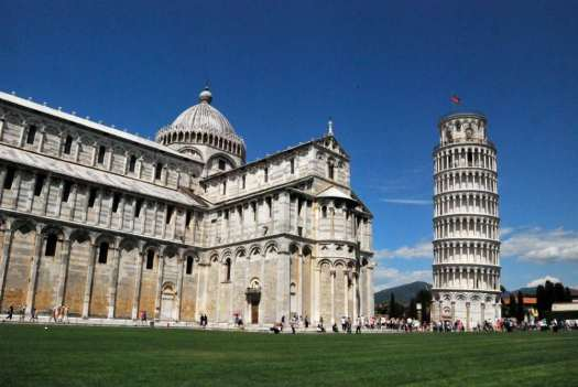 Florence to Pisa by train - Pisa Campo dei Miracoli