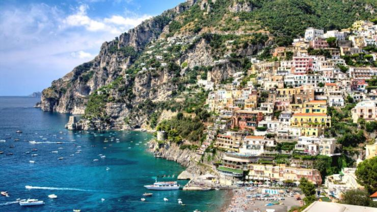 Italy Unesco sites - Amalfi coast