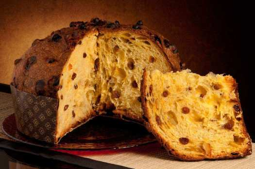 The traditional Panettone