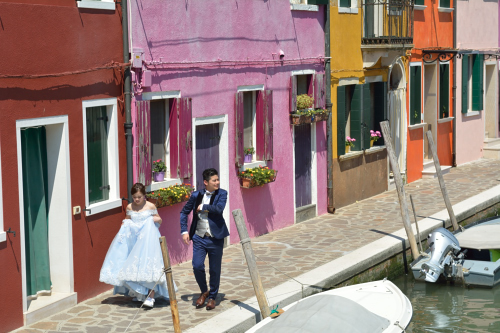 Burano in one day - wedding