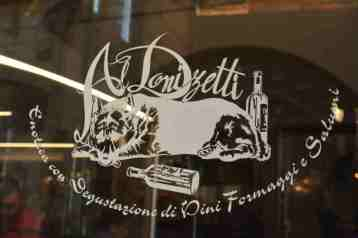 Bergamo Italy in one day - Donizetti restaurant
