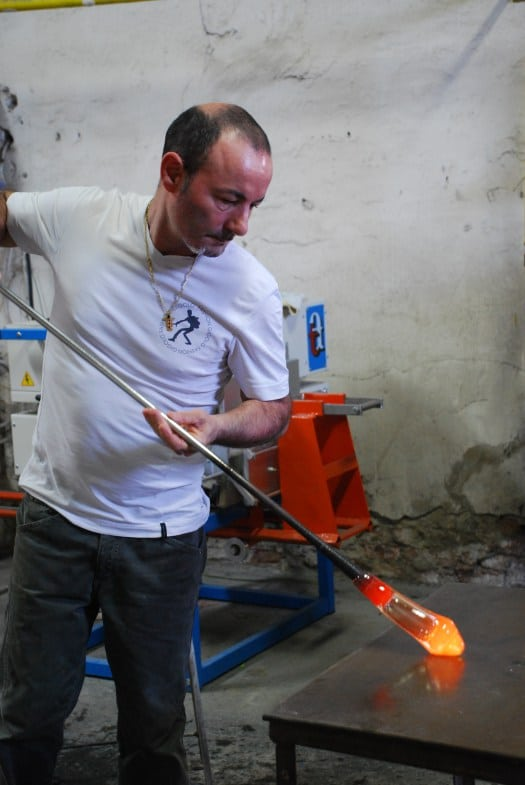 One day in Burano_Murano glass blowing