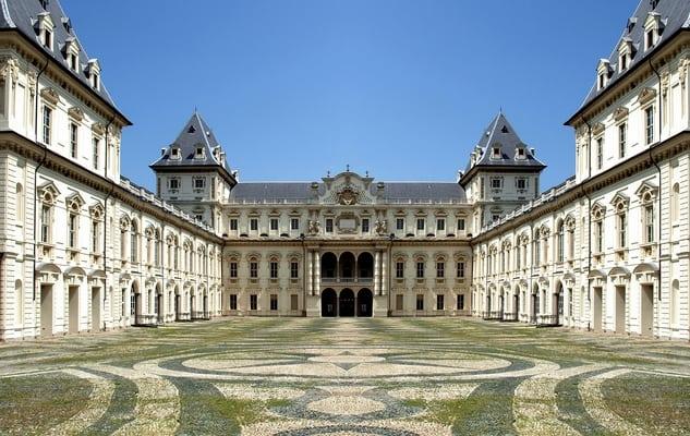Italy Unesco sites _ Savoia royal residences - castello Valentino
