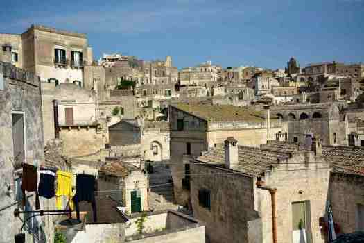 What to do in Matera: view of Matera Sassi district