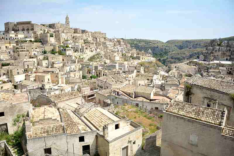 Matera - Road to Belvedere