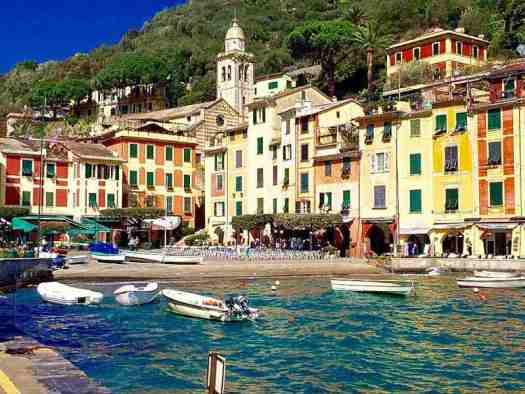 How to visit Portofino - the beach