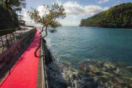 How to Visit Portofino_walking passway