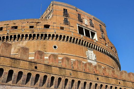 Visit Castel Sant'Angelo - fortress detail