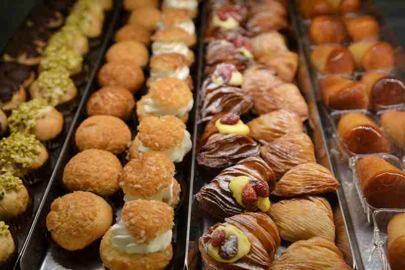 "Walking Rome Food Tour - Italina ""pasticcini"""