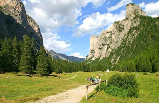 Visit the Dolomites - Vallunga