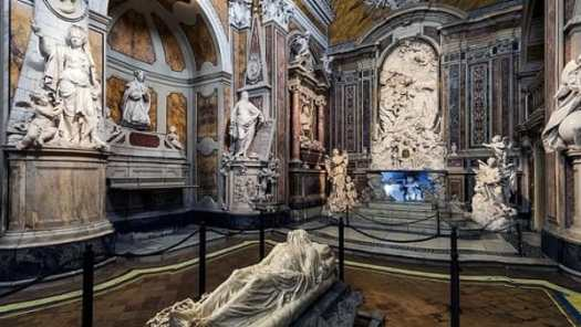 Naples in one day walking itinerary - cappella San Severo