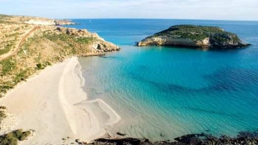 Best beaches in Italy_Spiaggia dei Conigli, Lampedusa