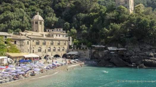 Best beaches of Italy_San Fruttuoso, Portofino – Liguria