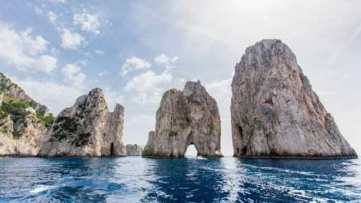 Best beaches of Italy_The Faraglioni, Capri – Naples