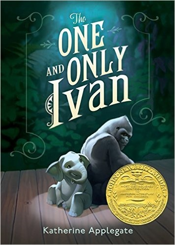 book cover one and only ivan